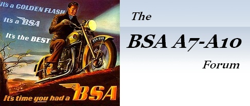 The BSA A7-A10 Forum